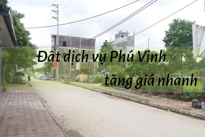 Tiềm năng tăng giá của đất dịch vụ Phú Vinh