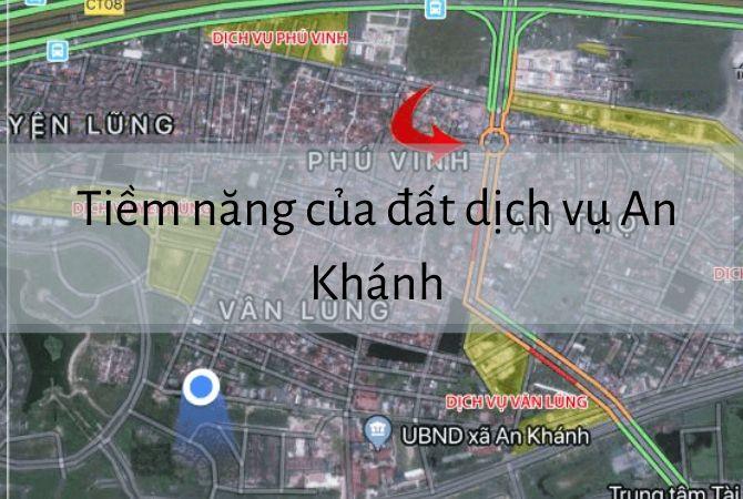 Tiềm năng phát triển của đất dịch vụ An Khánh