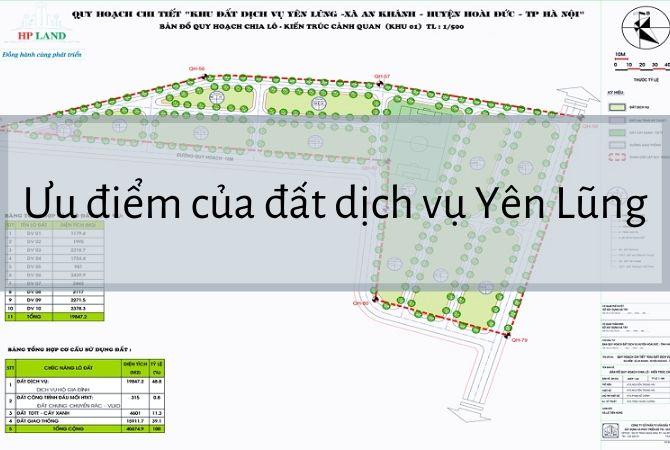 Ưu điểm của đất dịch vụ Yên Lũng
